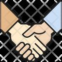 Handshake Muslim Communication Icon