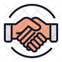 Handshake Deal Ggreement Icon