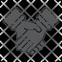 Handshake Business Deal Icon