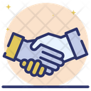 Business Handshake Business Handclasp Meeting Icon