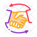 Handshake Business Icon
