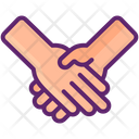 Handshake Partnership Agreement Icon