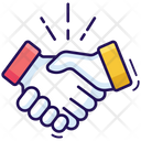 Commitment Handshake Handclasp Icon