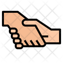 Partner Hands Gestures Icon