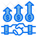 Handshake Partner Money Icon