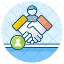 Handshake Partnership Working Relationship Icon
