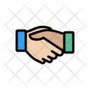 Handshake Commitment Contactus Icon