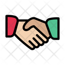Handshake Meeting Greeting Icon