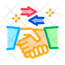 Handshake Exchange Agreement Icon