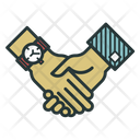 Handshake Handclasp Deal Icon