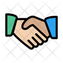 Commitment Conference Handshake Icon