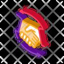 Handshake Business Graphic Icon