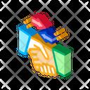 Handshake Exchange Agreement Icon