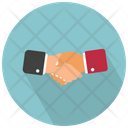 Handshake Deal Partnership Icon