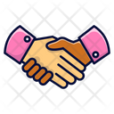 Guy Shaking Hand Handshake Shaking Hands Icon