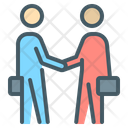 Partners Handshake Arrangement Icon