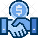 Handshake Deal Financial Icon