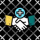 Handshake Thank You Icon