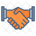 Handshake Deal Partnership Icon