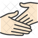 Handshake Hand Touch Icon