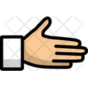 Line Outline Handshake Icon