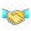 Handshake Partnership Deal Icon