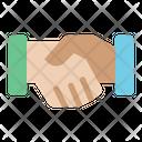 Handshake Partner Deal Icon
