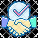 Handshake Partners Checkmark Icon