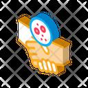 Handshake Dermatitis Transmission Icon