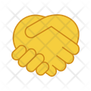 Handshake Gesture Icon