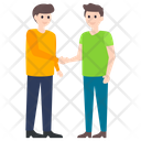 Handshake Greeting Icon