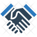 Business Financial Handshakes Icon