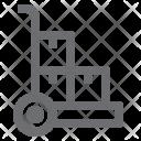 Handtruck Delivery Hand Icon