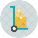 Handtruck Parcel Package Icon