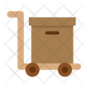 Delivery Box Trolley Box Icon