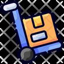 Handtruck Ecommerce Buke Icon