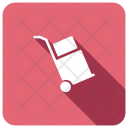Handtruck Box Delivery Icon