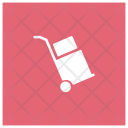 Box Delivery Dolly Icon