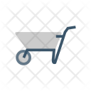 Handtruck Dolly Shipping Icon