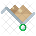 Handtruck Moving Icon