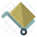 Moving Handtruck Parcel Icon