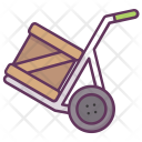 Handtruck Box Package Icon