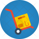 Handtruck Delivery Transport Icon