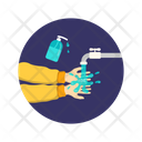 Handwash Washing Hands Icon