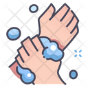 Handwash Virus Hand Icon