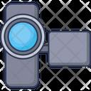 Handy Camcorder Video Camera Icon