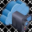 Cloud Computing Handycam Icon