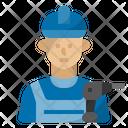 Handyman Job Occupation Icon
