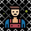 Handyman Locksmith Repairman Icon