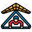 Hang Gliding Fly Icon